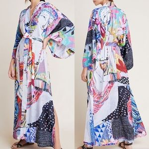 NWT Jai Vasicek Anika Cover-Up Kimono Robe